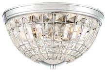 Minka-Lavery 2373-77 - 3 Light Flush Mount