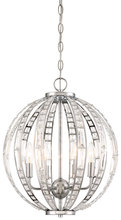 Minka-Lavery 2376-77 - 6 Light Chandelier