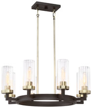 Minka-Lavery 3048-560 - 8 Light Chandelier