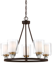 Minka-Lavery 3075-416 - 5 Light Chandelier