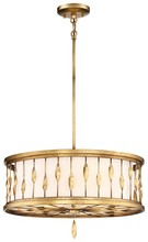 Minka-Lavery 4054-571 - 3 Light Pendant Convertible To Semi Flush
