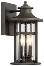 Minka-Lavery 72552-143C - 3 Light Outdoor Wall Lamp