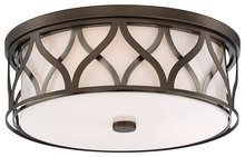 Minka-Lavery 840-102 - 3 Light Flush Mount