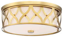 Minka-Lavery 840-249 - 3 Light Flush Mount