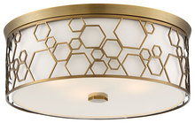 Minka-Lavery 845-108 - 4 Light Flush Mount