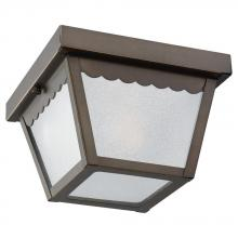 Sea Gull 75467-71 - One Light Outdoor Ceiling Flush Mount