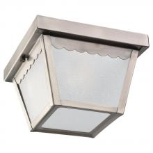 Sea Gull 75467-965 - One Light Outdoor Ceiling Flush Mount