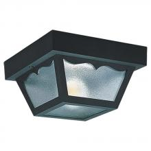Sea Gull 7567-32 - One Light Outdoor Ceiling Flush Mount