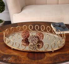 Uttermost 19963 - Uttermost Eclipse Mirrored Tray
