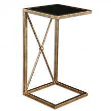 Uttermost 25014 - Uttermost Zafina Gold Side Table